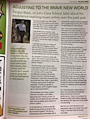 Here is the article in the magazine